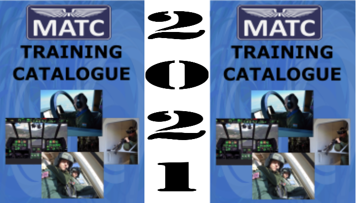 NEW MATC Training Catalogue was issued